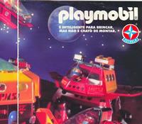 Propaganda dos bonecos Playmobil veiculado no Brasil nos anos 90.
