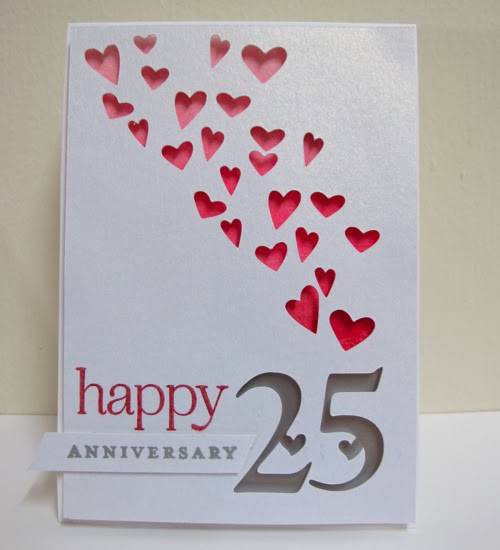 25th Wedding Anniversary Gift For Parents: Swanlady Impressions: 25th Wedding Anniversary