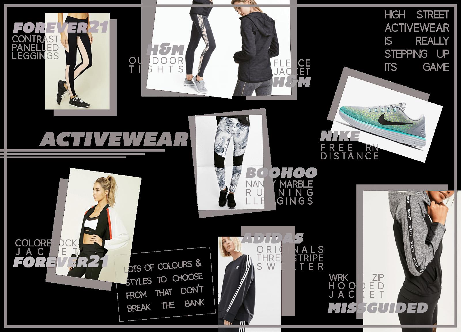 activewear wishlist january uk fashion blogger