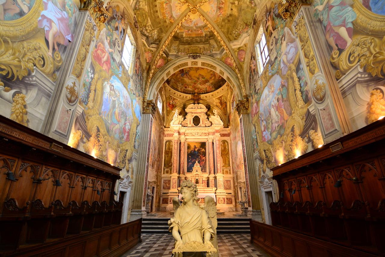 nef église chartreuse de Pise