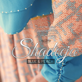 Ayyanameena Shadeeja Blue-Peach
