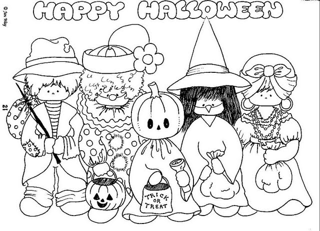 Esos Locos Bajitos De Infantil Dibujos De Halloween Para