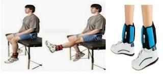 Cara meninggikan badan dengan Ankle weigth