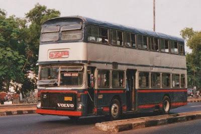 bus damri tingkat di medan