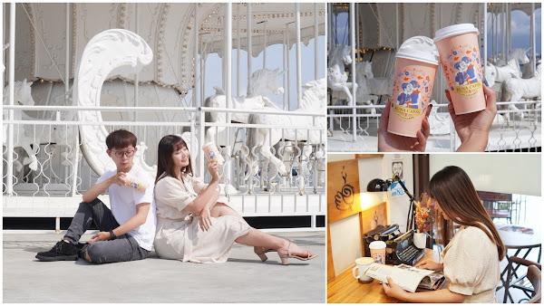 高雄美食【嚕娜咖啡】奶茶控必點top1鴛鴦ㄋㄟㄋㄟ|每一天都是情人節的小秘密!