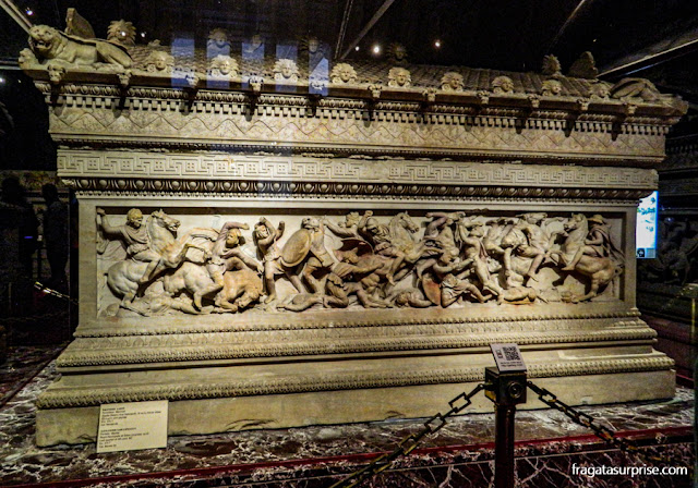 Sarcófago de Alexandre, Museu Arqueológico de Istambul