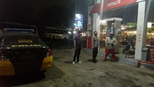 Cegah Kriminalitas, Polsek Cileunyi Polresta Bandung Tingkatkan Patroli Malam