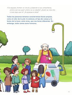 Apoyo Primaria Formación Cívica y Ética 1er grado Bloque 1 Lección 2 Diferentes e iguales