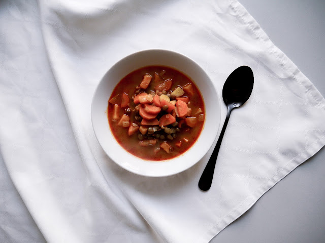 Podzimní polévka s kari