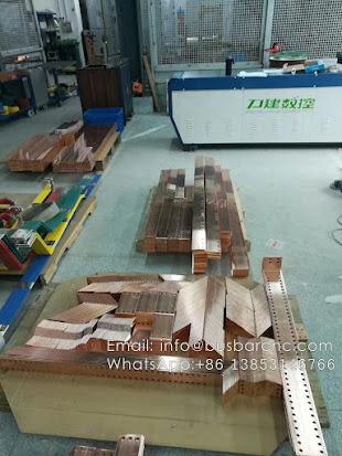 busbar cutting equipment