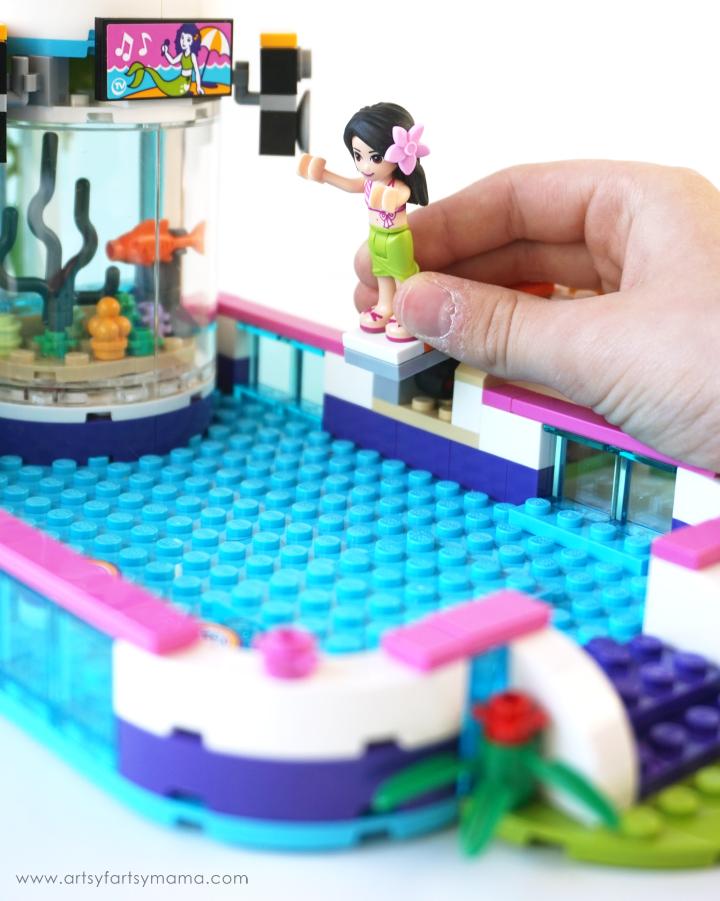 Make A Splash With Lego Friends Heartlake Summer Pool Artsy