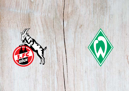 Köln vs Werder Bremen -Highlights 07 March 2021