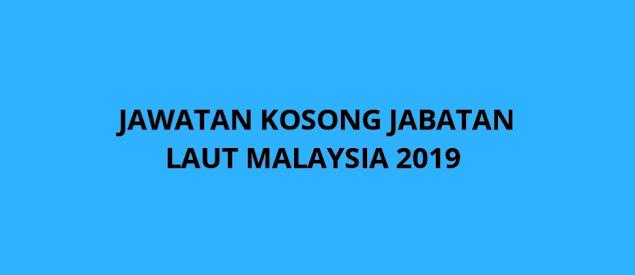 Jawatan Kosong Jabatan Laut Malaysia 2021