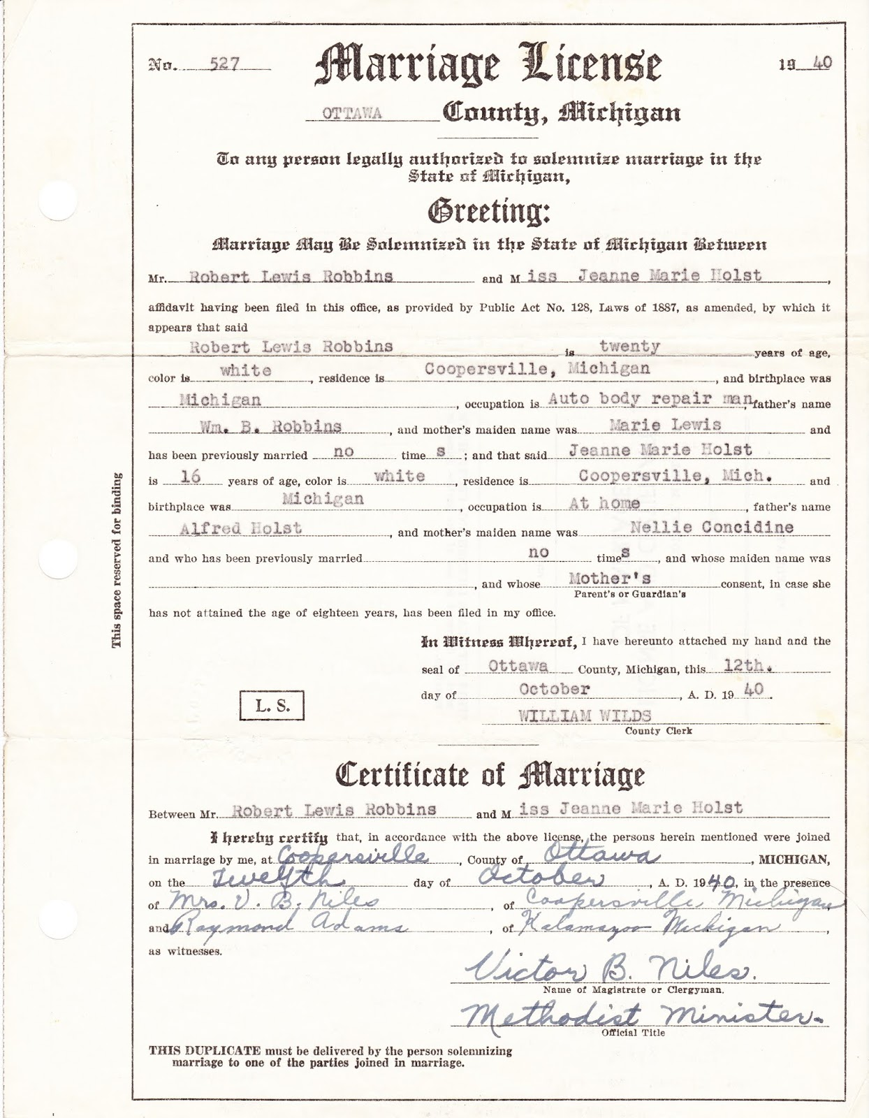 muskegon county michigan birth records