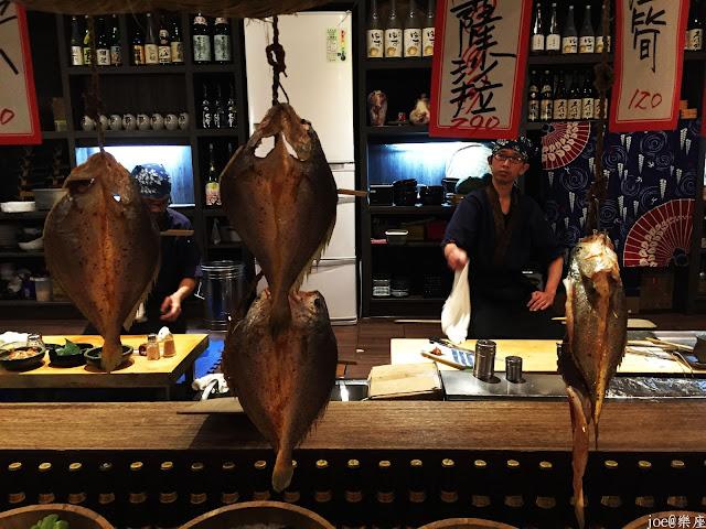 IMG 9626 - 【台中美食】來自日本傳統好滋味的 樂座端爐燒 @日本古早味@新鮮海鮮@新鮮蔬果~