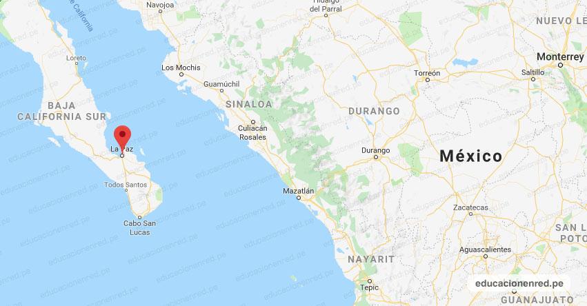 Temblor en México de Magnitud 4.2 (Hoy Jueves 27 Agosto 2020) Sismo - Epicentro - La Paz - Baja California Sur - B.C.S. - SSN - www.ssn.unam.mx