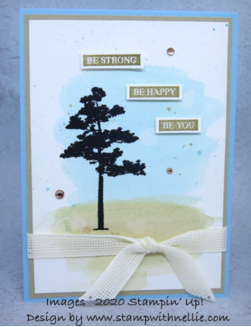 Nigezza Creates with Stampin' Up! & Friends The Project Share 2nd July 2020