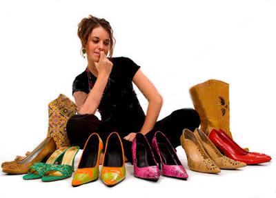 Memilih Sepatu Harus Dengan Cara Yang Tepat