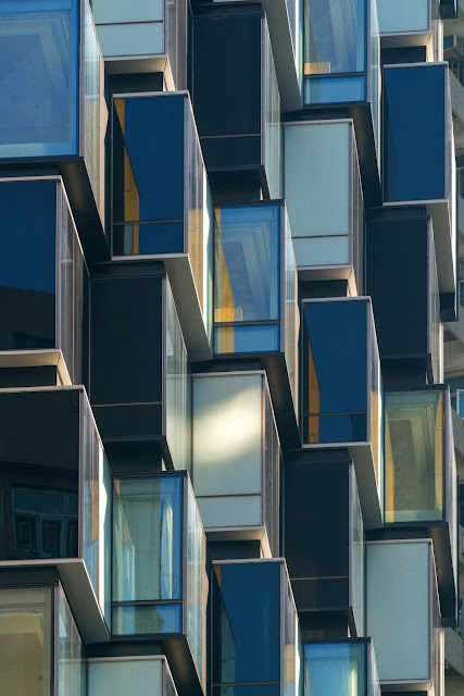 các module kiểu zig zag của khách sạn