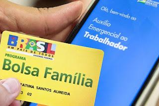 Integrantes do Bolsa Família começam a receber 3ª parcela de auxílio