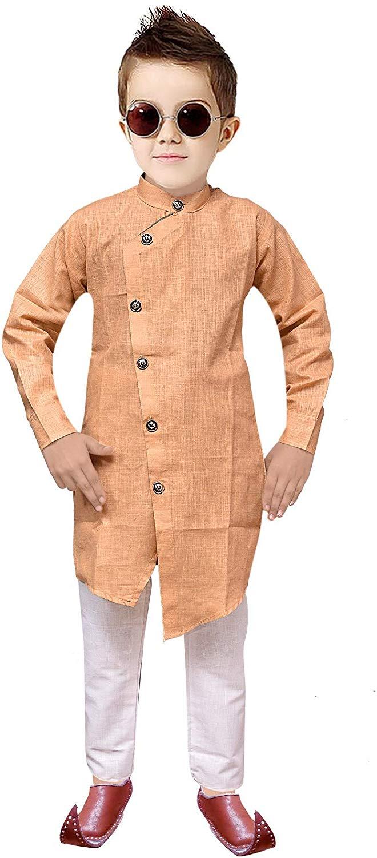 Tucute® Kids Ethnic Wear Indo Western Kurta and Pyjama Set for Boys