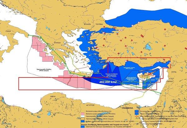 Στήνει παιχνίδι με τη Λιβύη η Άγκυρα και βάζει χέρι σε Κρήτη και Κύπρο