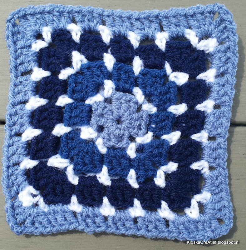 Granny Patroon 1 Blockstich Square