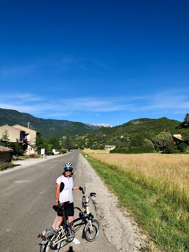French Village Diaries cycling up Mont Ventoux from Montbrun-les-Bains