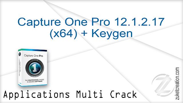 Capture One Pro 12.1.2.17 (x64) + Keygen