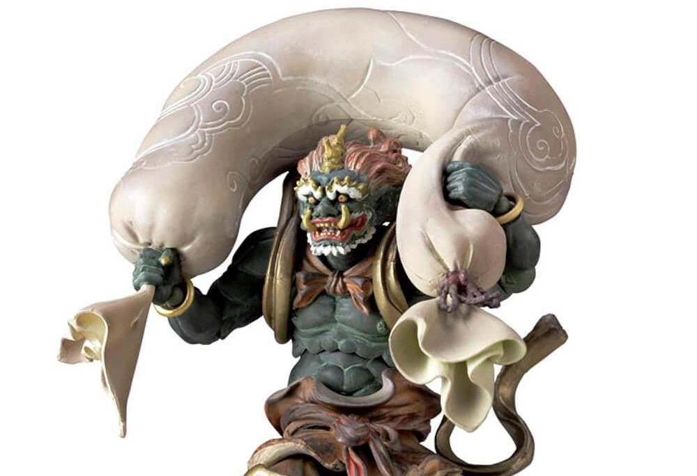 Fujin - O Deus do Vento na Mitologia Japonesa