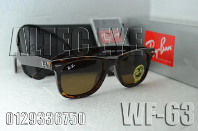 db78d464e33 Specification Code  WF-63 Condition   New Model  Ray Ban Wayfarer Frame  Material   Metal Lens Material   Glass with UV400 protection Frame Color    Tiger ...