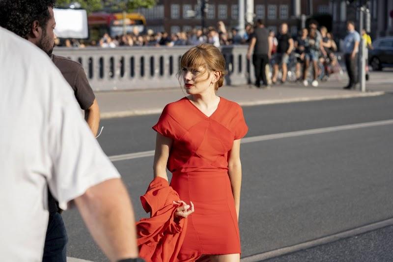 Diana Gómez Clicked on the Set of Money Heist in Copenhagen 6 Aug -2020