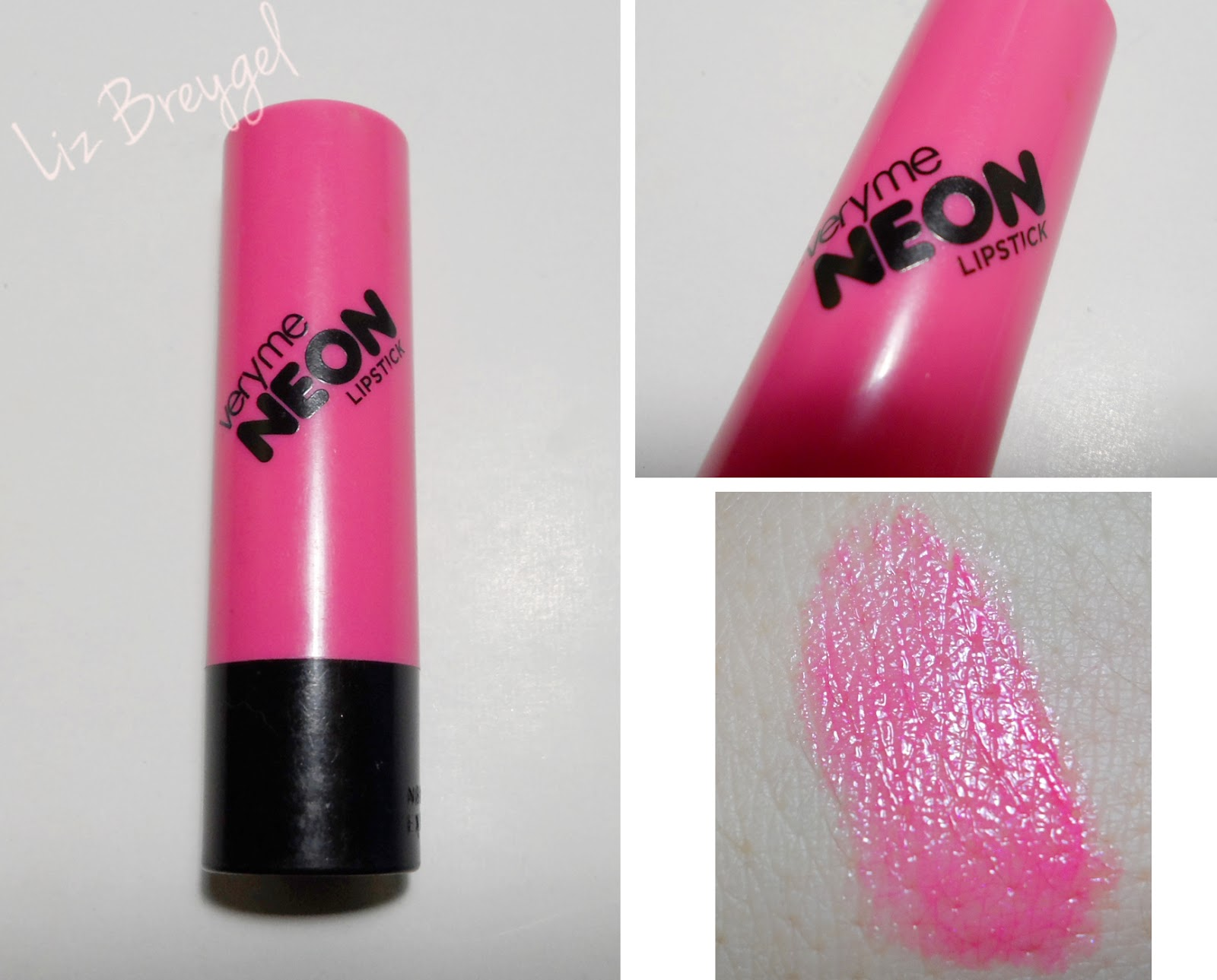 oriflame screaming pink neon lipstick very me review swatch