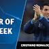 Cristiano Ronaldo é eleito o craque da Semana da UEFA Champions League