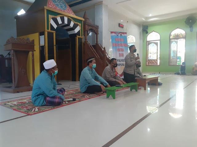 Operasi Bina Waspada, Polresta Jayapura Kota Kunjungi Pondok Pesantren DDI Entrop
