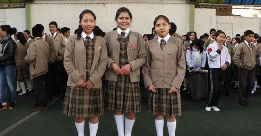 Cinco estudiantes de secundaria de Huancayo irán a Francia, a intercambio cultural «International School Of Paris»
