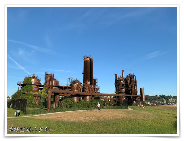 西雅圖 gas works park