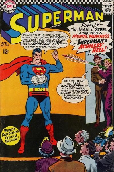 Episode #395 Part I: Superman Comic Book Cover Dated April 1966: Superman #185!