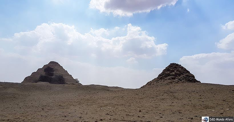 Pirâmide de Saqqara, Egito - como visitar a primeira pirâmide egípcia