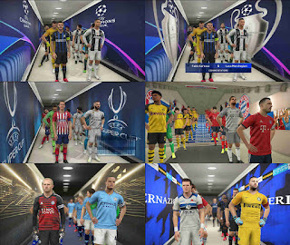 PES 2019 Stadium Tunnels Pack by FuNZoTiK