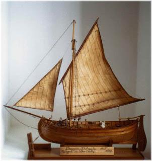 Brazzera Dalmata costruita da Pietro Cristini