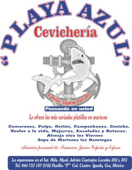 CEVICHERIA PLAYA AZUL