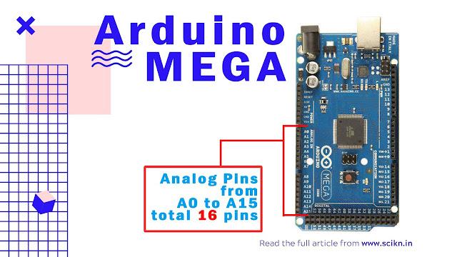 Analog pin of Arduino Mega