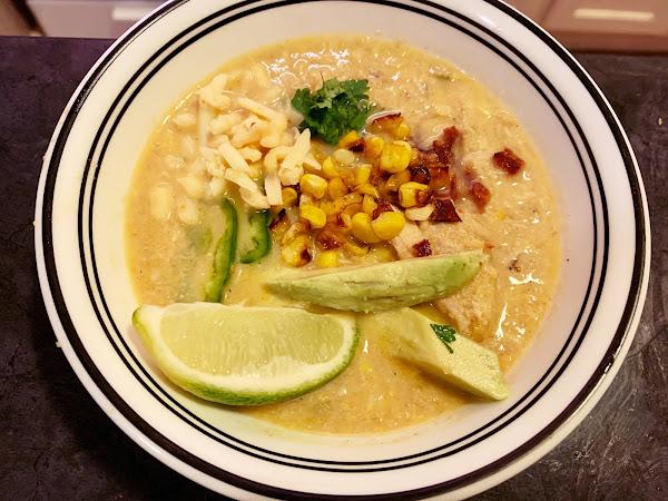 Soup Wins! (Mexican Street Corn Soup)