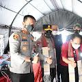Kapolres dan Wabup Sambut Kedatangan Wamen Desa PDTT dan Kapoldasu di Samosir