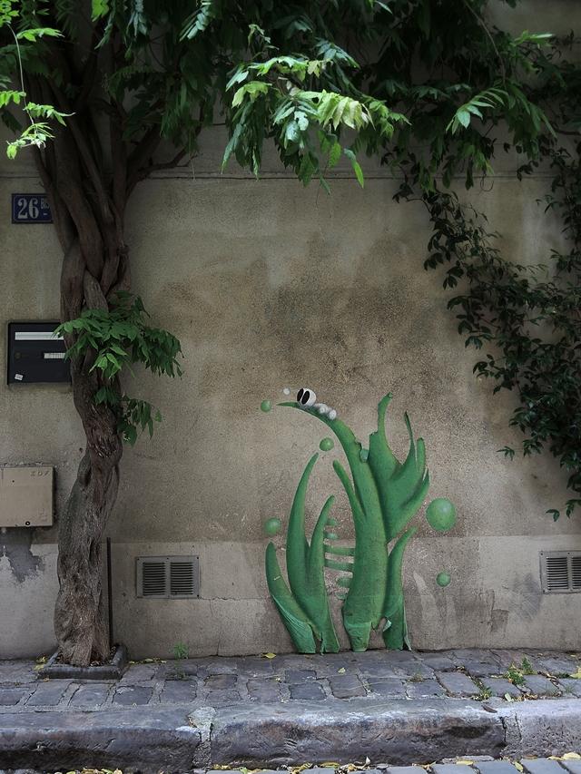 Parijs: de groene Rue des Thermopyles