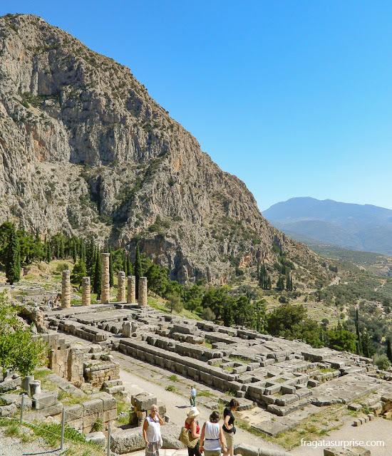 Monte Parnaso, em Delfos, Grécia