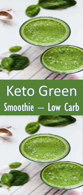 Keto Green Smoothie #Low Carb