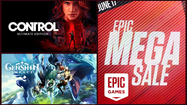 Control and Genesis Impact free on Epic Games