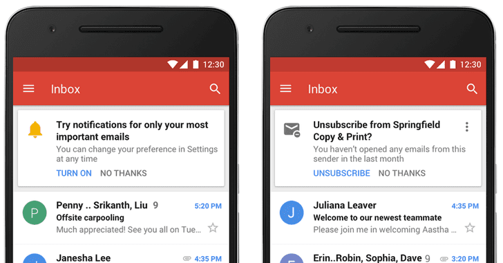gmail notification
